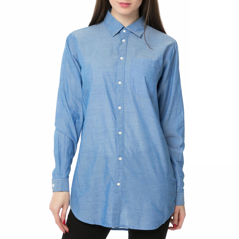 bd1f76d558c0 G-STAR RAW - Γυναικείο μακρυμάνικο πουκάμισο Core BF 1pkt shirt μπλε ...