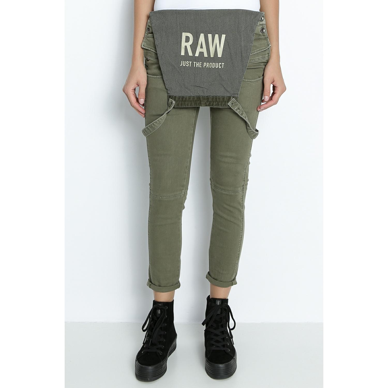 G-STAR RAW - Γυναικεία σαλοπέτα G-Star Raw Army Radar χακί γυναικεία ρούχα ολόσωμες φόρμες