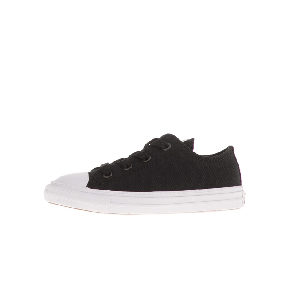 CONVERSE – Βρεφικά sneakers CONVERSE CHUCK TAYLOR ALL STAR II OX μαύρα