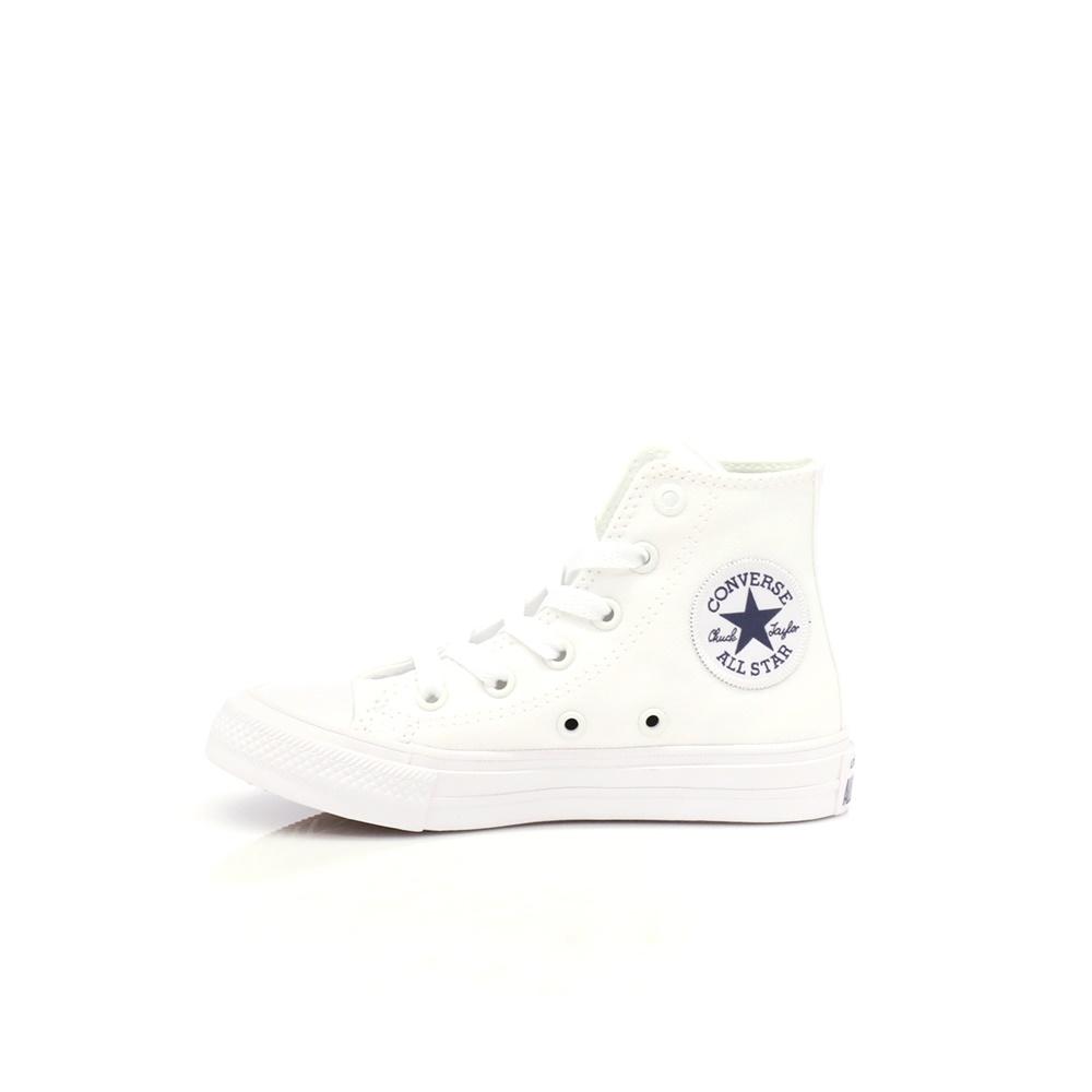 CONVERSE – Παιδικά παπούτσια Chuck Taylor All Star II Hi λευκά b36dc2731f8