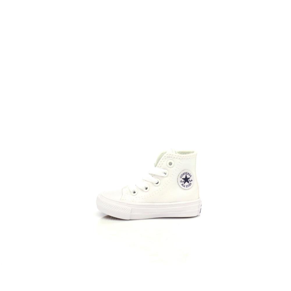 CONVERSE – Βρεφικά παπούτσια Chuck Taylor All Star II Hi λευκά