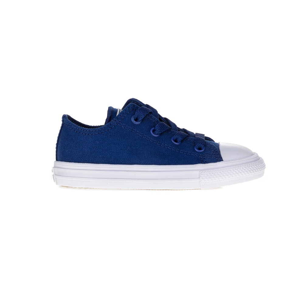 CONVERSE - Βρεφικά παπούτσια Chuck Taylor All Star II Ox μπλε παιδικά baby παπούτσια sneakers