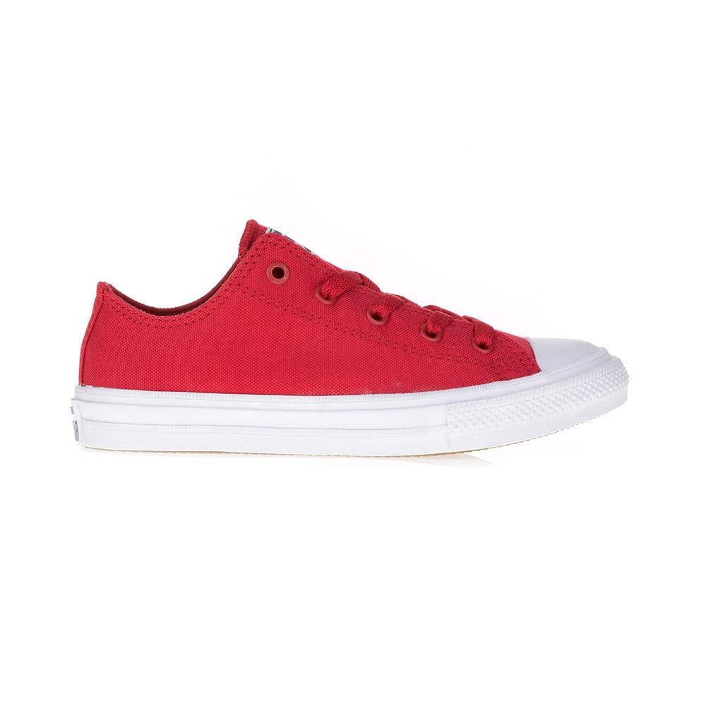 CONVERSE – Παιδικά αθλητικά παπούτσια Chuck Taylor All Star II Ox κόκκινα