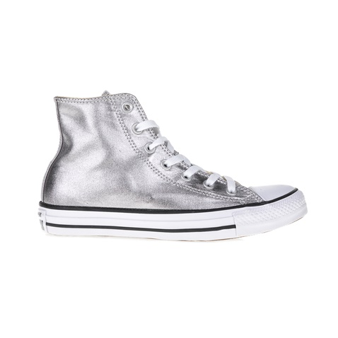 5a0bf4cfd04 Γυναικεία αθλητικά μποτάκια Chuck Taylor All Star Hi ασημί - CONVERSE  (1466785.0-m271) | Factory Outlet