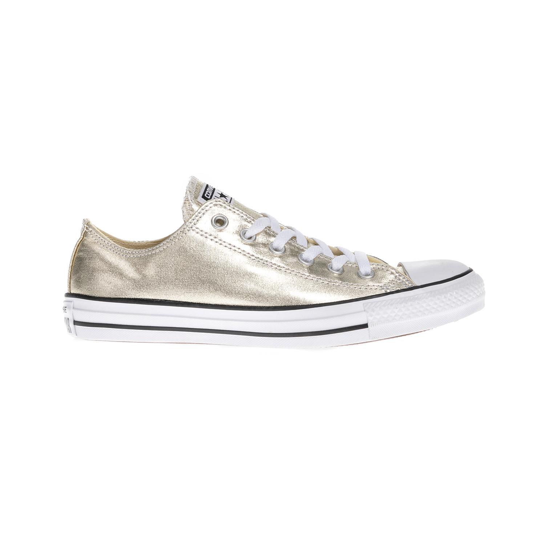 15a2bb8070a CONVERSE - Γυναικεία παπούτσια Chuck Taylor All Star Ox χρυσά ...