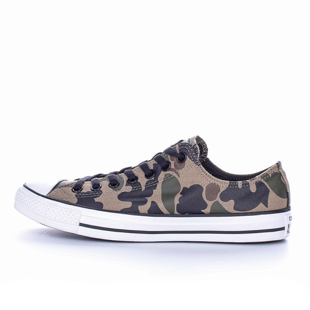 CONVERSE – Unisex sneakers CONVERSE Chuck Taylor All Star Ox χακί