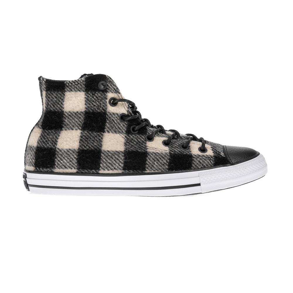 CONVERSE – Unisex παπούτσια Chuck Taylor All Star Hi μαύρα-μπεζ