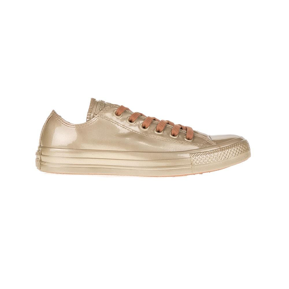 CONVERSE – Γυναικεία αθλητικά παπούτσια Chuck Taylor All Star Metallic μπεζ