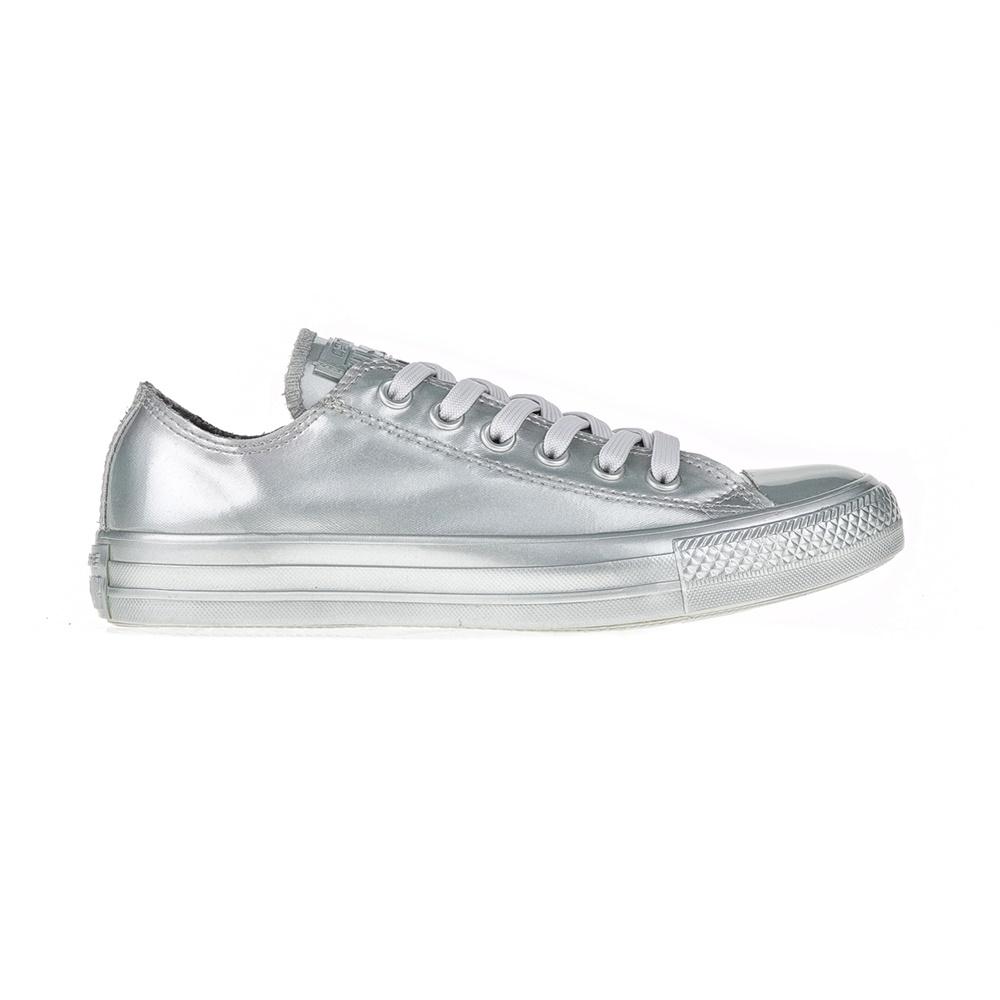 CONVERSE – Γυναικεία αθλητικά παπούτσια Chuck Taylor All Star Metallic ασημί