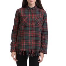 MAISON SCOTCH-Γυναικείο πουκάμισο MAISON SCOTCH κόκκινο-πράσινο