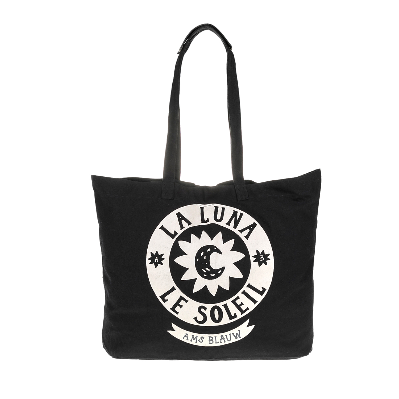 SCOTCH & SODA - Γυναικεία τσάντα MAISON SCOTCH μαύρη γυναικεία αξεσουάρ τσάντες σακίδια ωμου