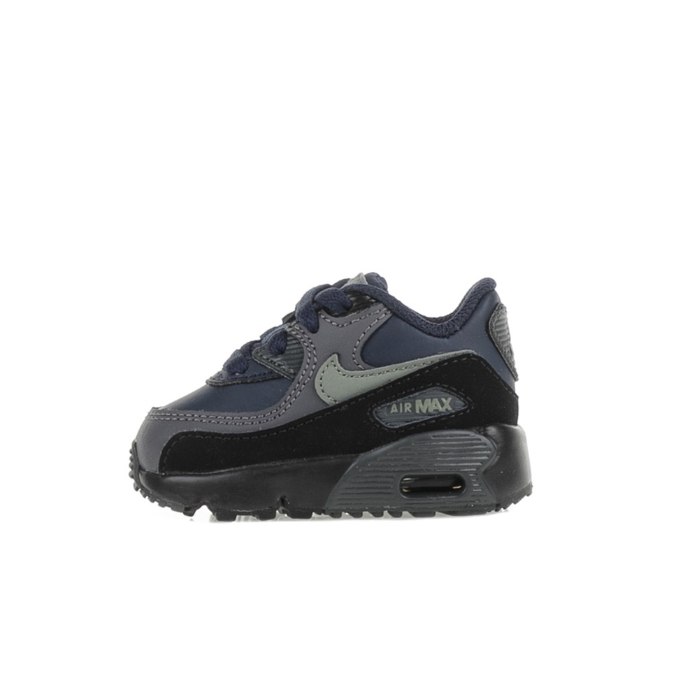 NIKE - Βρεφικά αθλητικά παπούτσια Nike AIR MAX 90 LTR (TD) μπλε-γκρι ... b48494a04c4