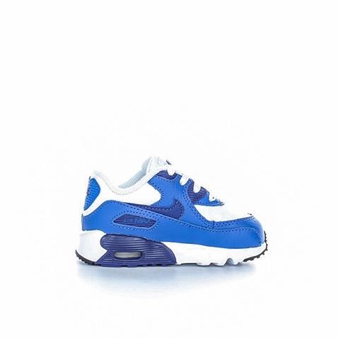 299b6f3d479 NIKE-Βρεφικά αθλητικά παπούτσια Nike AIR MAX 90 LTR (TD) μπλε - λευκό