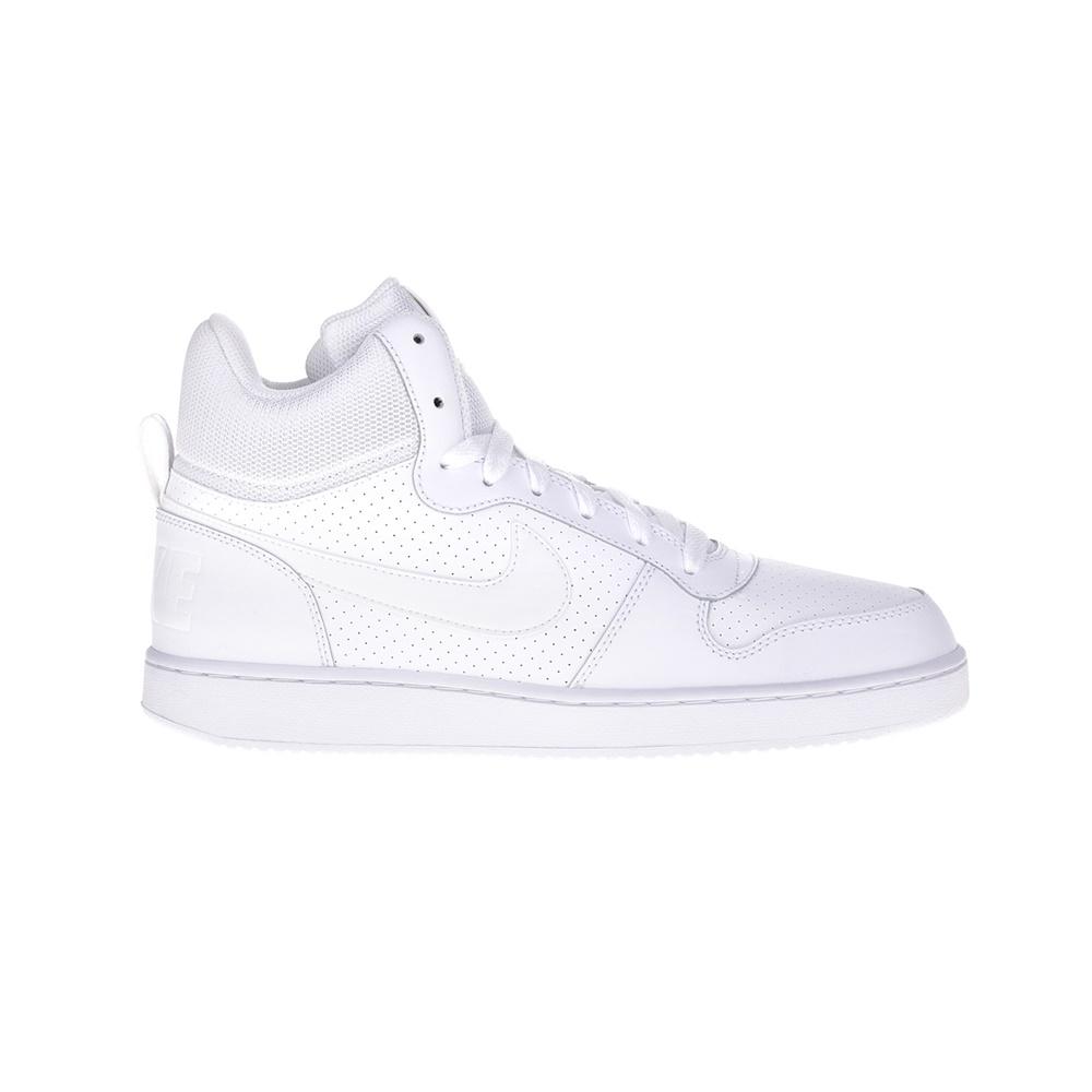 NIKE – Ανδρικά παπούτσια NIKE COURT BOROUGH MID λευκά