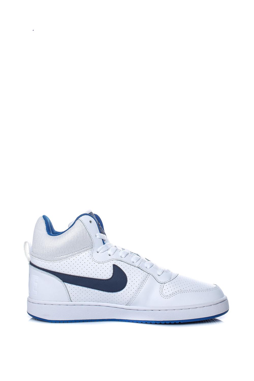 NIKE – Ανδρικά παπούτσια μπάσκετ Nike COURT BOROUGH MID λευκά
