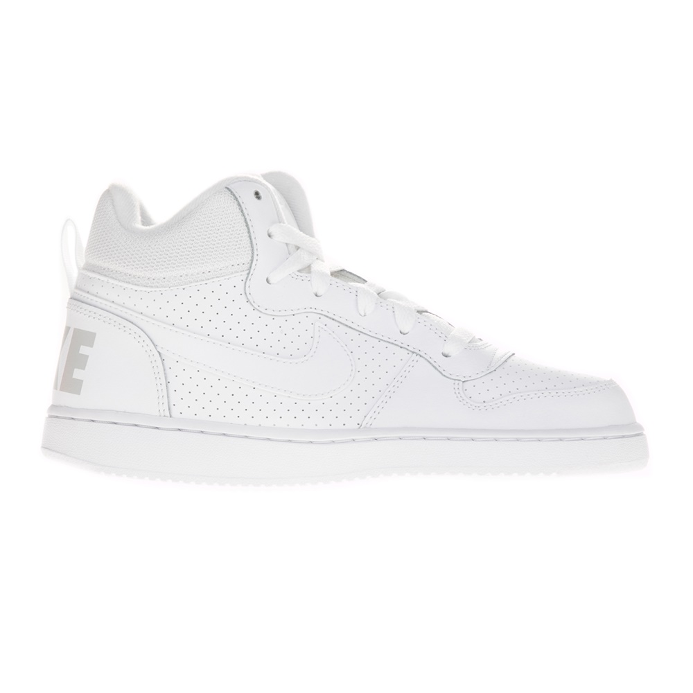 488861130a -24% Factory Outlet NIKE – Παιδικά αγορίστικα παπούτσια NIKE COURT BOROUGH  MID (GS) λευκά