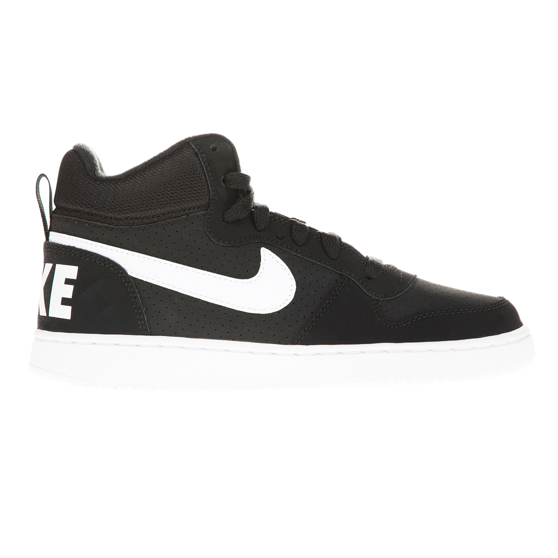 NIKE – Αγορίστικα παπούτσια NIKE COURT BOROUGH MID (GS) μαύρα