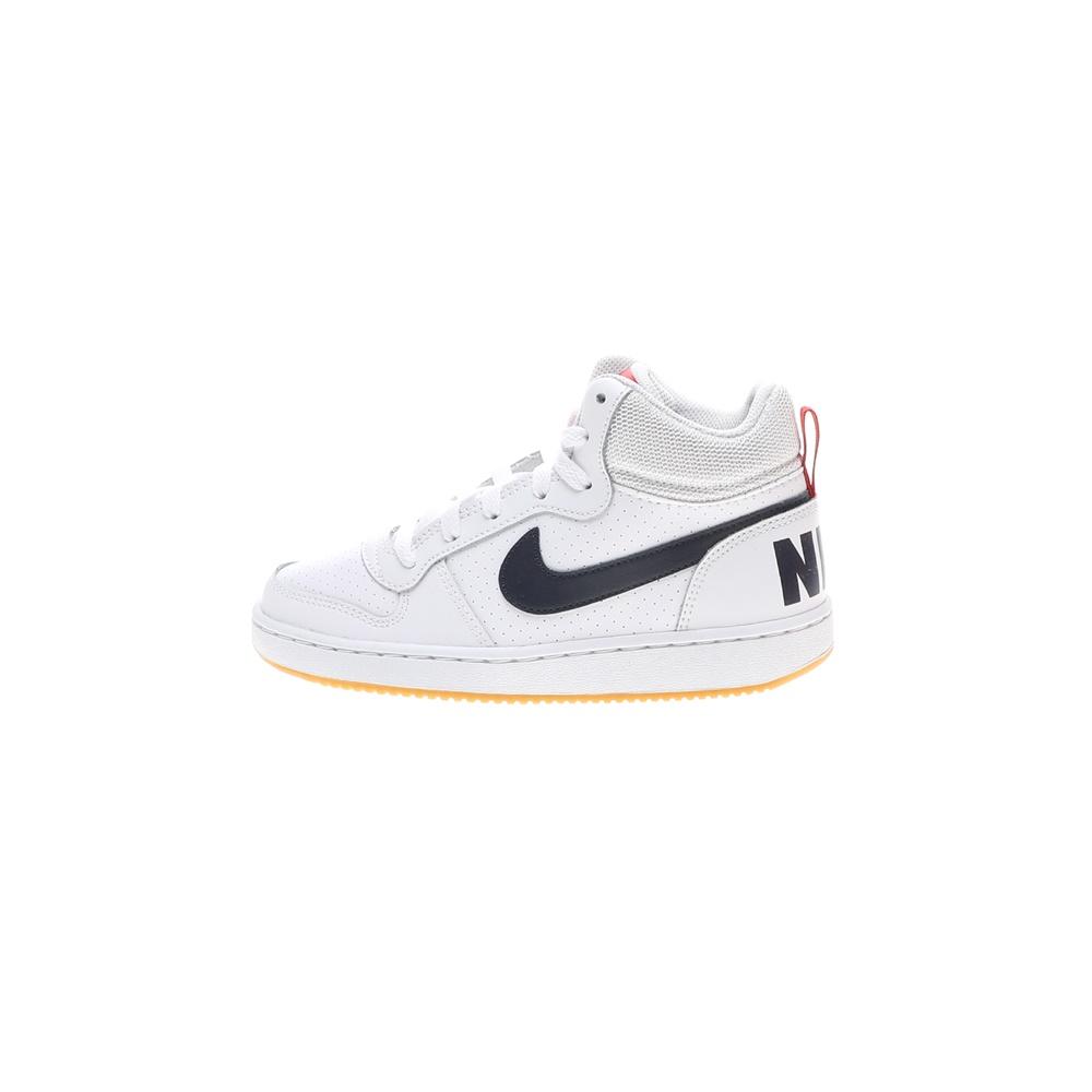 NIKE – Παιδικά παπούτσια NIKE COURT BOROUGH MID (GS) λευκά μπλε