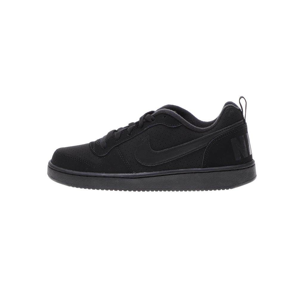 NIKE – Παιδικά αθλητικά παπούτσια NIKE COURT BOROUGH LOW (GS) μαύρα