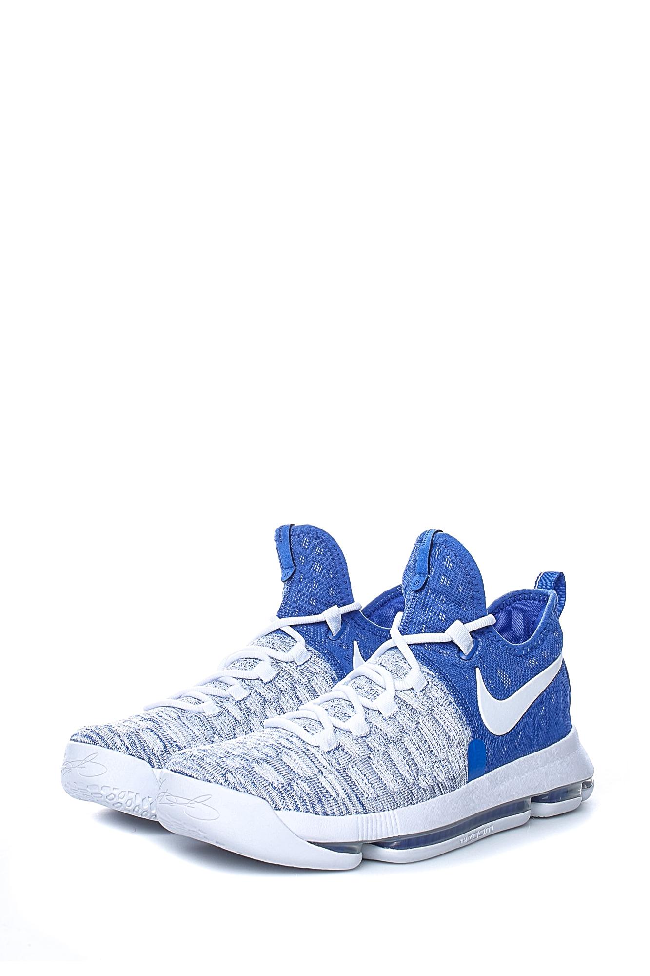 549864cea1d4 NIKE - Ανδρικά παπούτσια για μπάσκετ Nike ZOOM KD 9 μπλε - λευκά ...