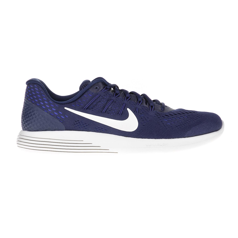 NIKE – Ανδρικά αθλητικά παπούυτσια NIKE LUNARGLIDE 8 μπλε-λευκά