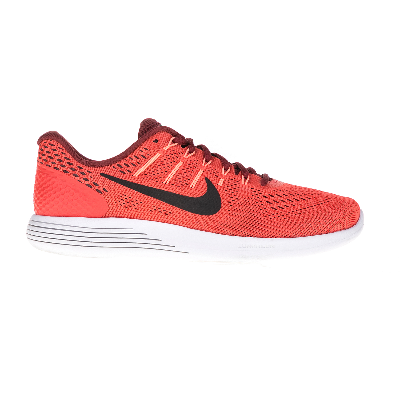 NIKE – Ανδρικά αθλητικά παπούτσια NIKE LUNARGLIDE 8 κόκκινα
