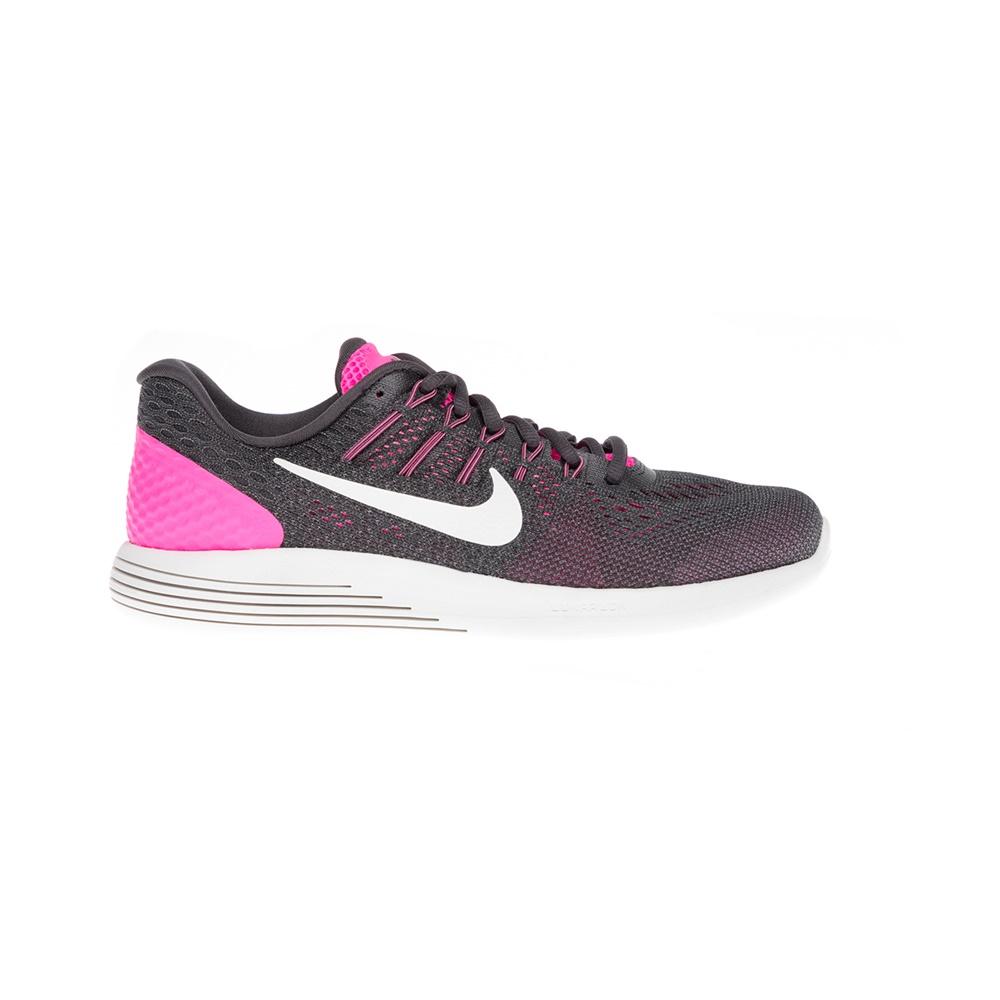 1ff2e161e56 NIKE - Γυναικεία αθλητικά παπούτσια NIKE LUNARGLIDE 8 γκρι-ροζ ...