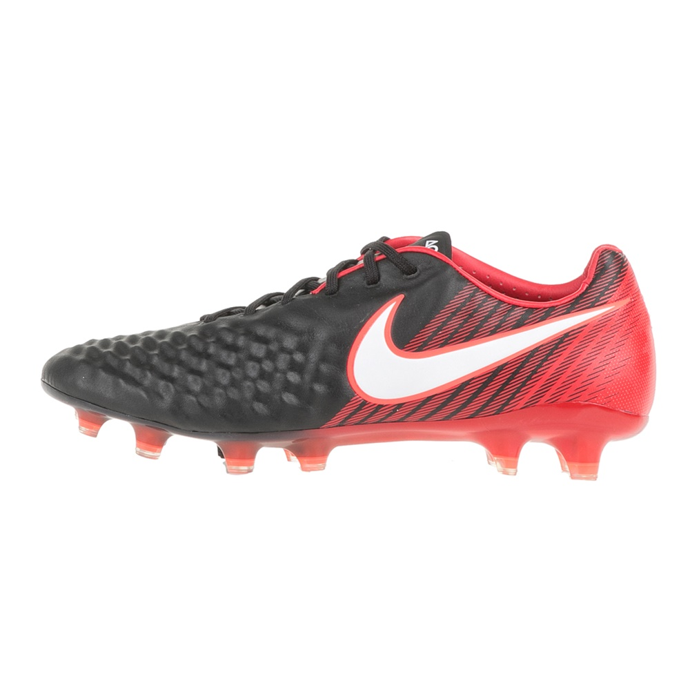 NIKE – Ανδρικά ποδοσφαιρικά παπούτσια NIKE MAGISTA OPUS II FG μαύρα – κόκκινα