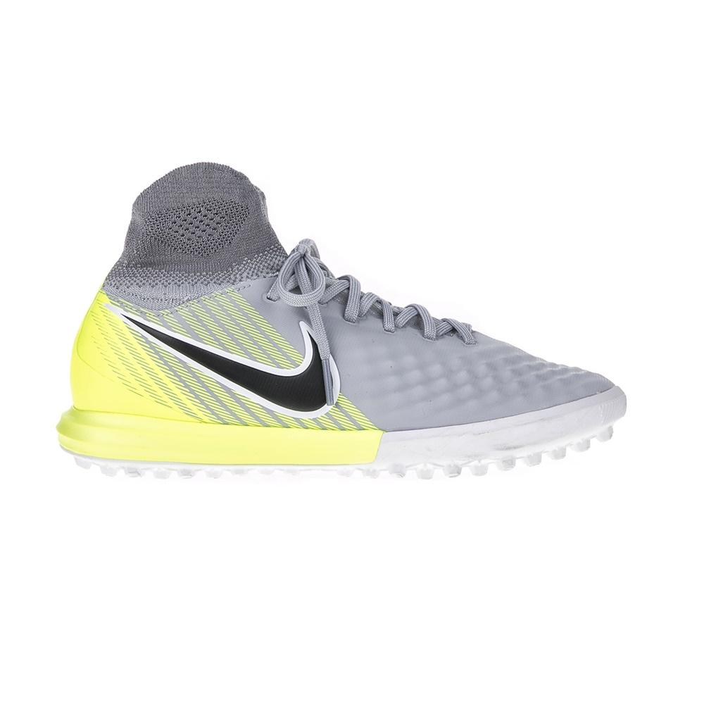 NIKE - Παιδικά παπούτσια ποδοσφαίρου JR MAGISTAX PROXIMO II DF TF γκρι παιδικά boys παπούτσια αθλητικά