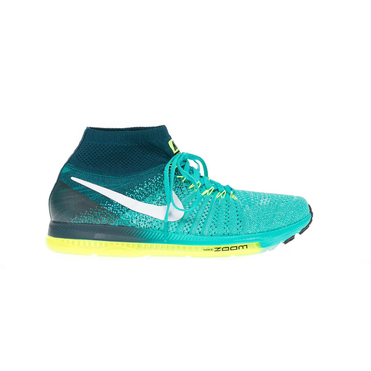 ee670f183ba NIKE – Αντρικά παπούτσια NIKE ZOOM ALL OUT FLYKNIT πράσινα. Factoryoutlet