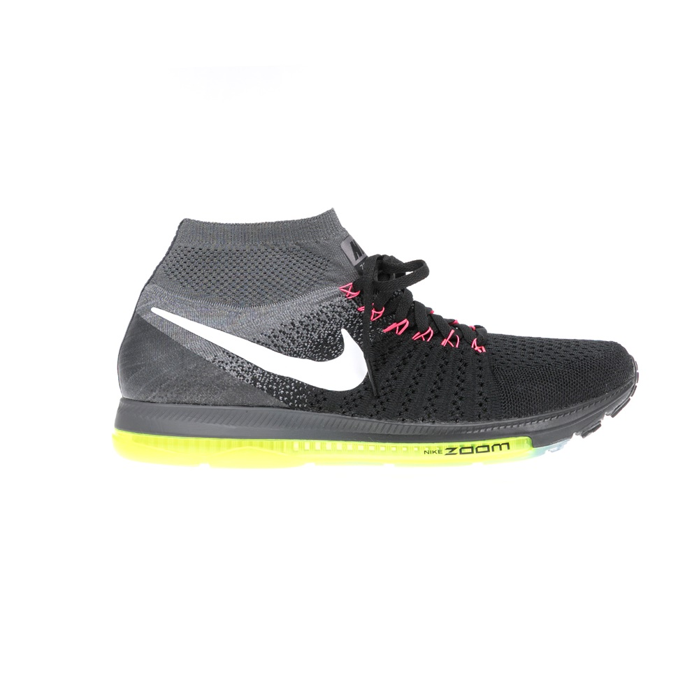 ddcd63c587d NIKE – Ανδρικά αθλητικά παπούτσια NIKE ZOOM ALL OUT FLYKNIT μαύρα.  Factoryoutlet