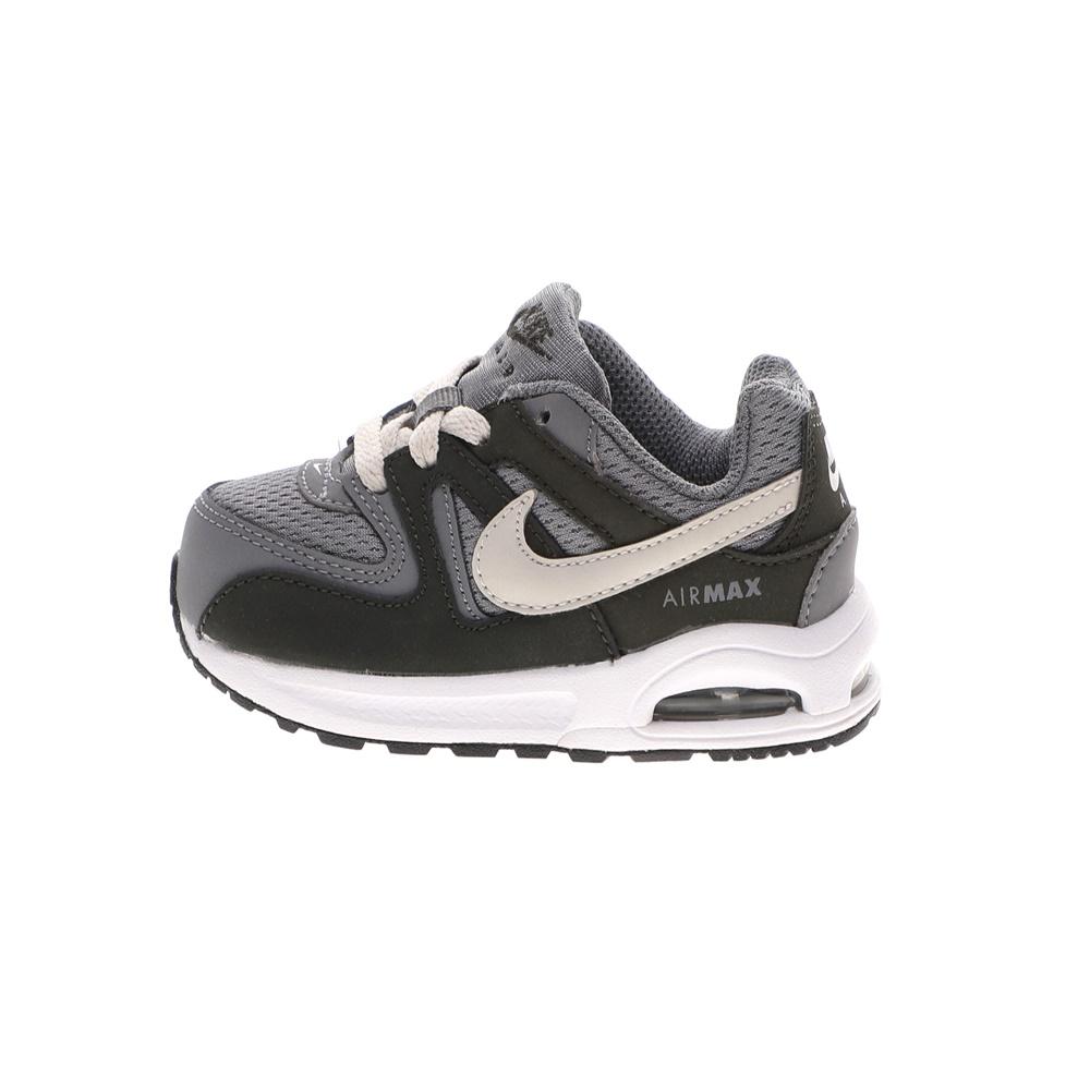 NIKE – Βρεφικά αθλητικά παπούτσια NIKE AIR MAX COMMAND FLEX (TD) γκρι εκρού
