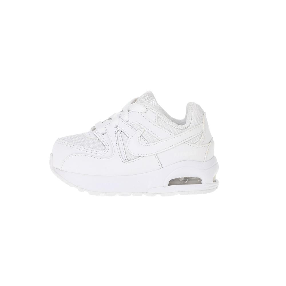 NIKE – Βρεφικά αθλητικά παπούτσια NIKE AIR MAX COMMAND FLEX (TD) λευκά