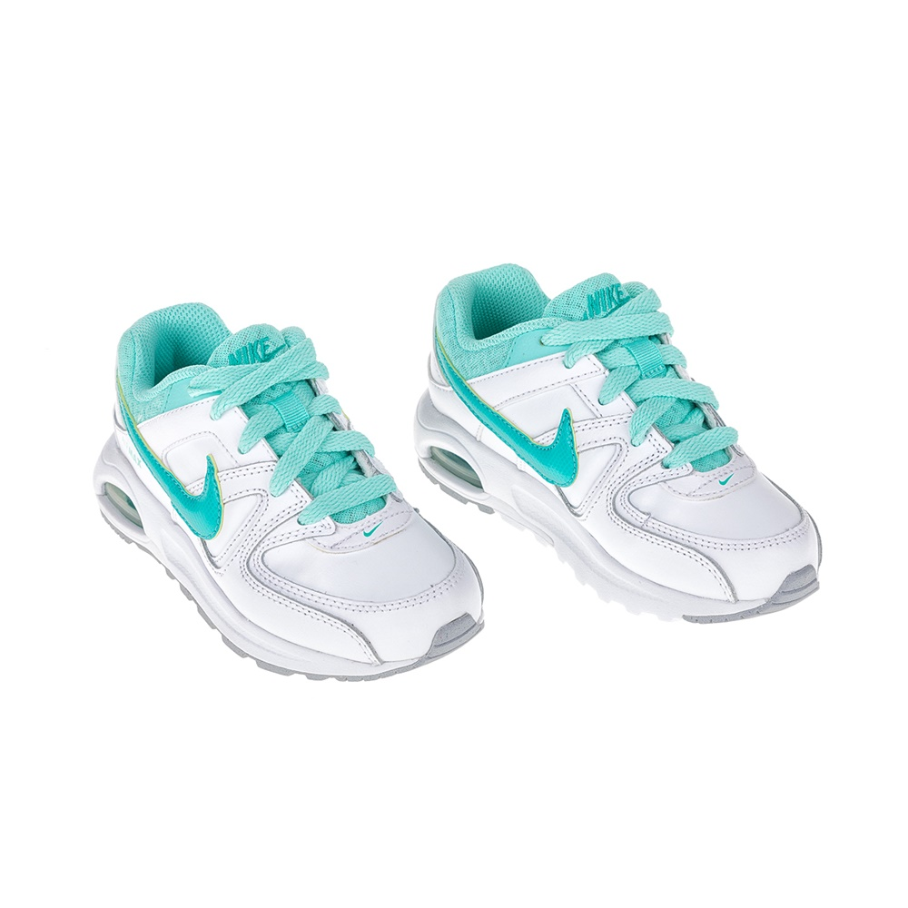 outlet store 58489 80485 NIKE - Αθλητικά παιδικά παπούτσια ΝΙΚΕ AIR MAX COMMAND FLEX LTR PS  λευκά-μπλε, ΠΑΙΔΙ   ΠΑΠΟΥΤΣΙΑ   ΑΘΛΗΤΙΚΑ