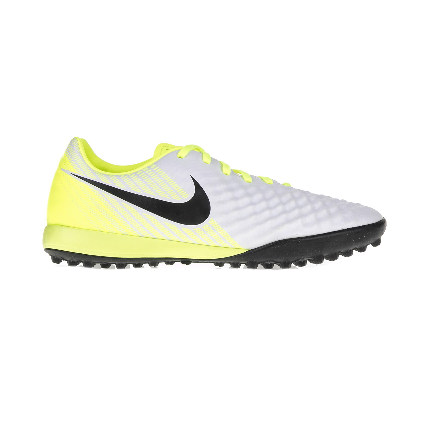 NIKE – Ανδρικά ποδοσφαιρικά παπούτσια Nike MAGISTAX ONDA II TF λευκά – κίτρινα