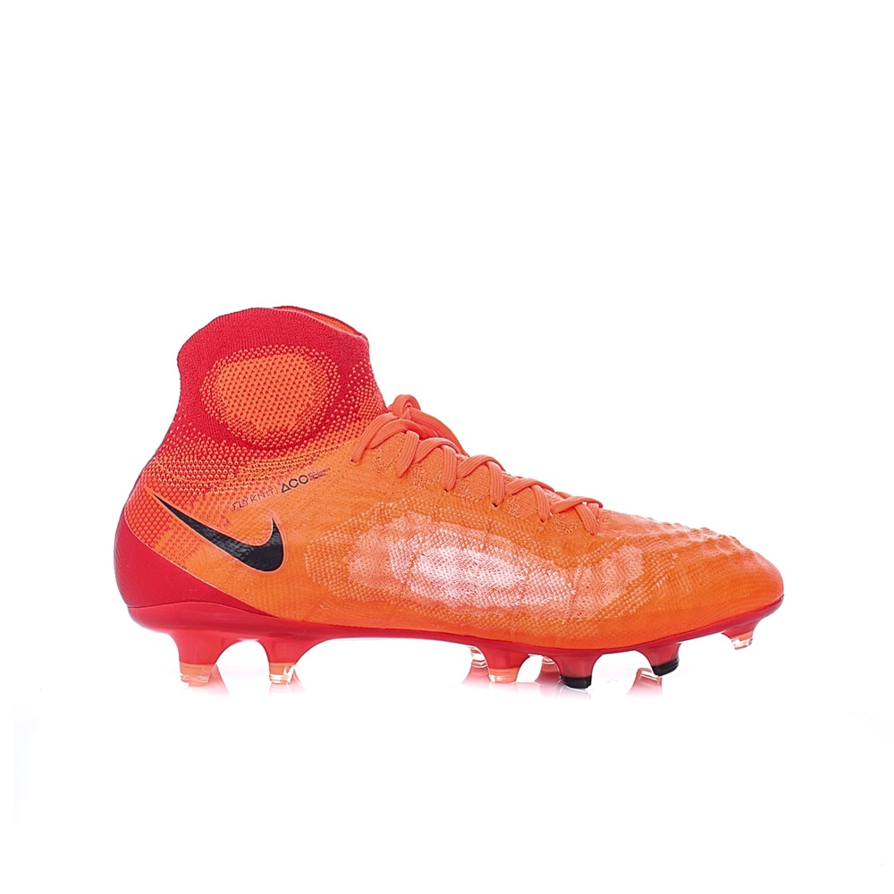 NIKE – Ανδρικά παπούτσια ποδοσφαίρου Nike MAGISTA OBRA II FG κόκκινα – πορτοκαλί
