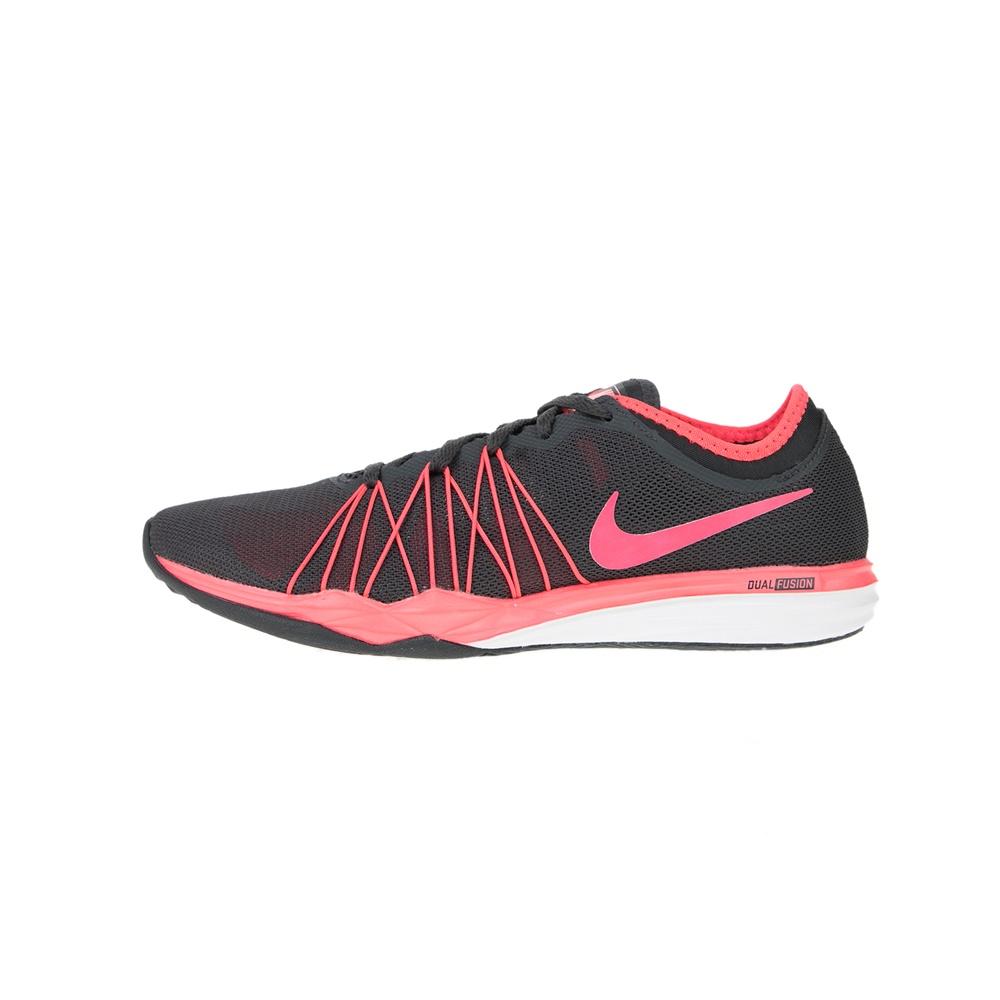 NIKE – Γυναικεία παπούτσια training NIKE DUAL FUSION TR HIT ανθρακί ροζ
