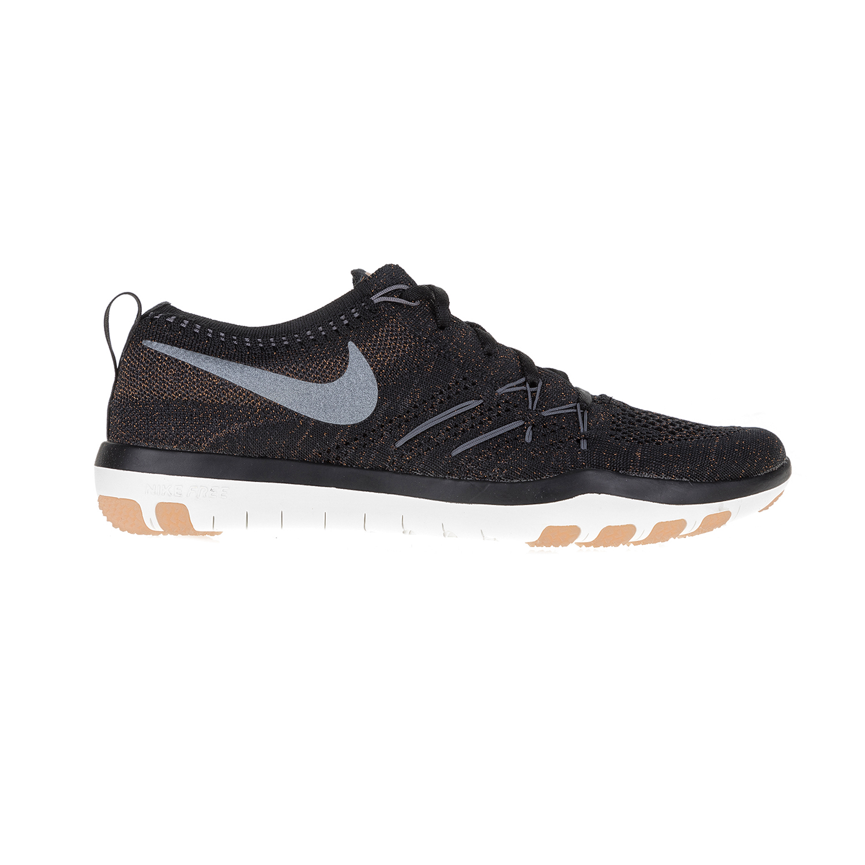 NIKE – Γυναικεία αθλητικά παπούτσια NIKE FREE TR FOCUS FLYKNITμαύρα
