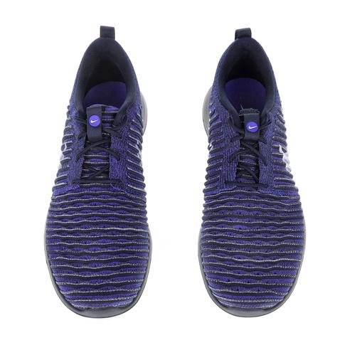 NIKE-Ανδρικά αθλητικά παπούτσια NIKE ROSHE TWO FLYKNIT μπλε-μαύρα