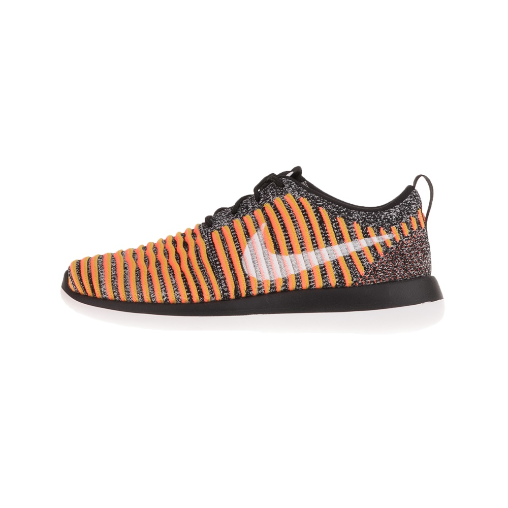 NIKE – Γυναικεία αθλητικά παπούτσια NIKE ROSHE TWO FLYKNIT πορτοκαλί γκρι