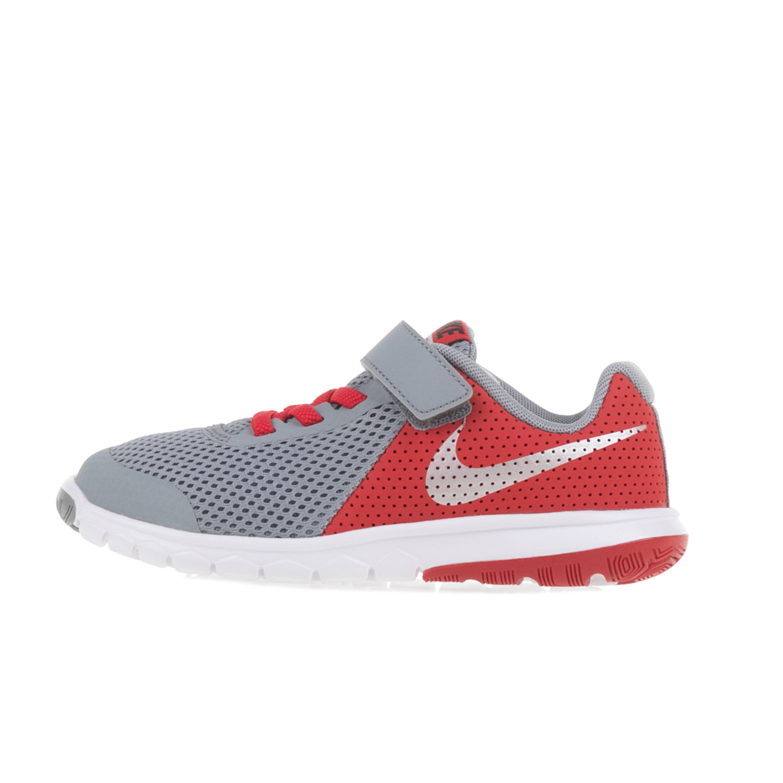 NIKE – Παιδικά αθλητικά παπούτσια NIKE FLEX EXPERIENCE 5(PSV) γκρι-πορτοκαλί