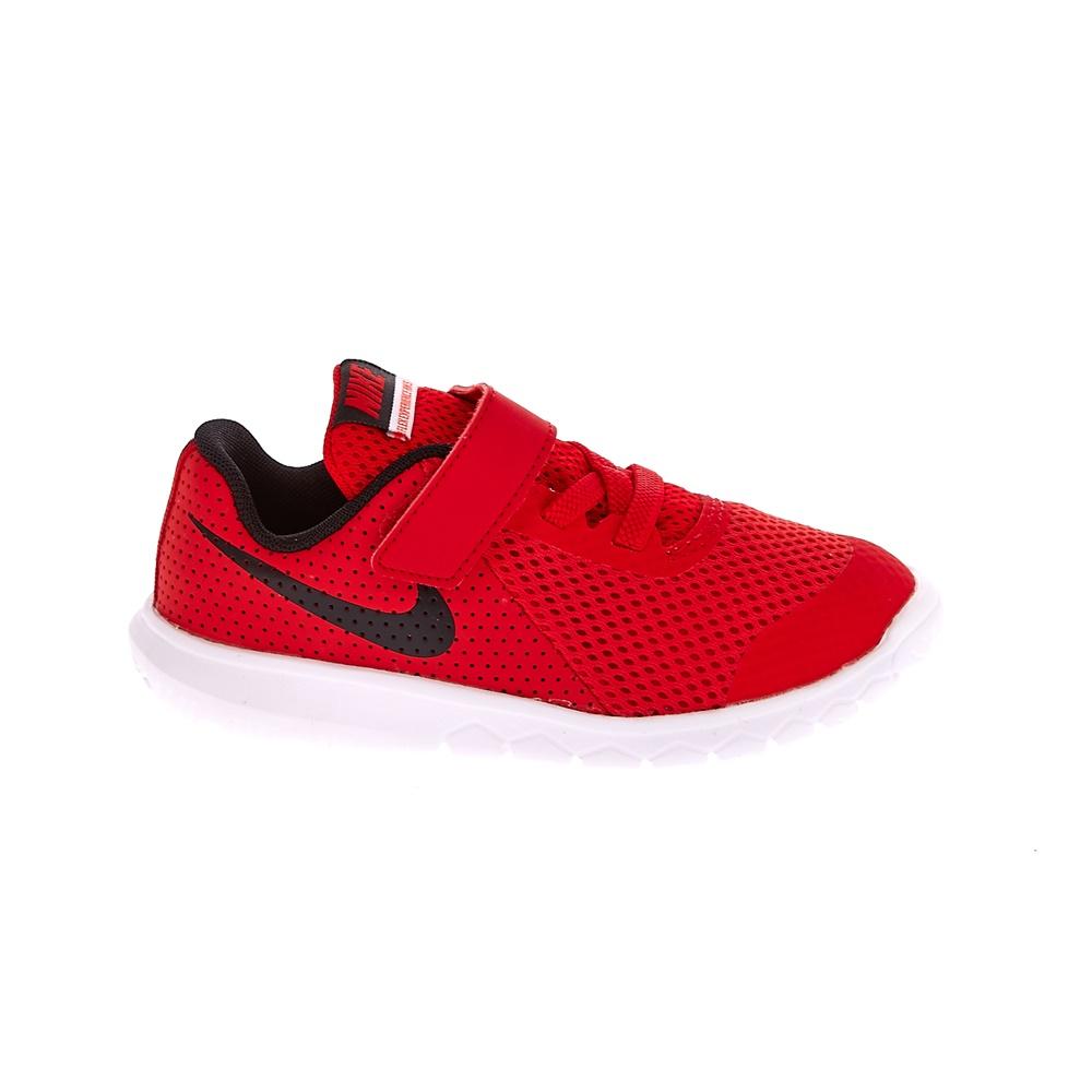 NIKE - Βρεφικά αθλητικά παπούτσια NIKE FLEX EXPERIENCE 5 (TDV) κόκκινα παιδικά baby παπούτσια αθλητικά