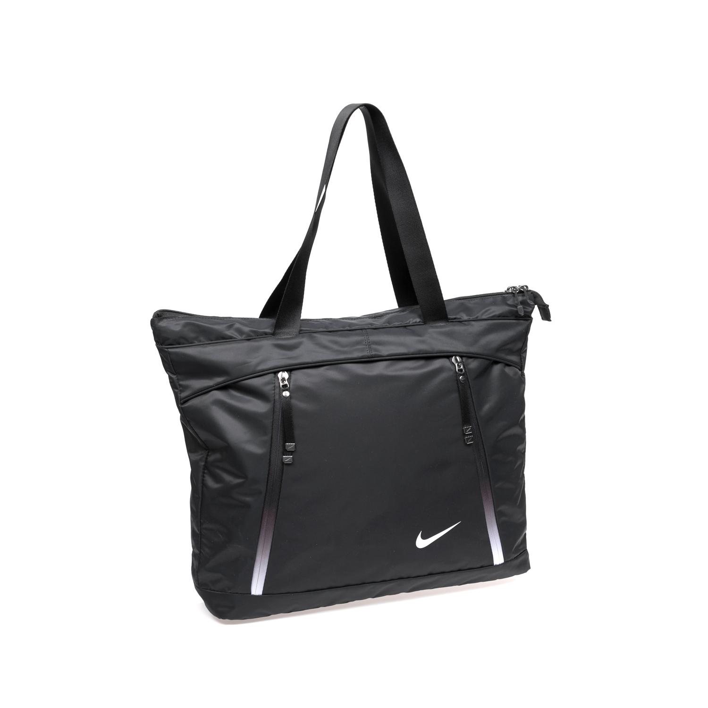 NIKE - Γυναικεία τσάντα NIKE AURA μαύρη γυναικεία αξεσουάρ τσάντες σακίδια αθλητικές