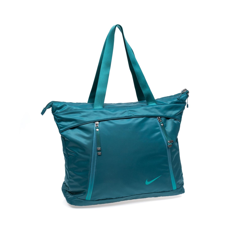 NIKE - Γυναικεία τσάντα NIKE AURA μπλε γυναικεία αξεσουάρ τσάντες σακίδια αθλητικές
