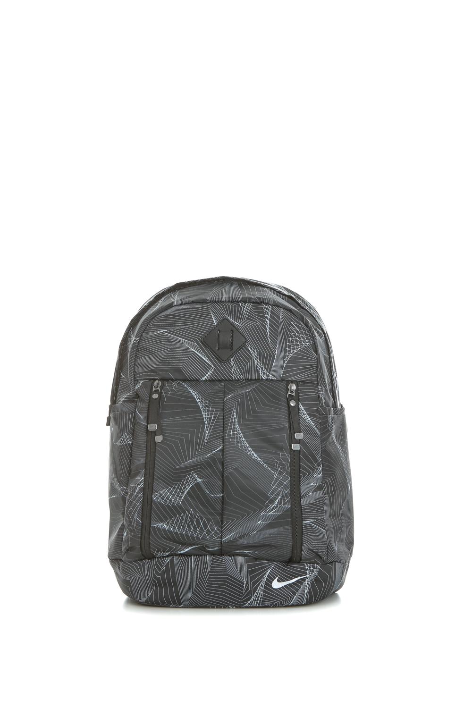 NIKE - Γυναικεία τσάντα πλάτης Nike Auralux μαύρη με print γυναικεία αξεσουάρ τσάντες σακίδια αθλητικές