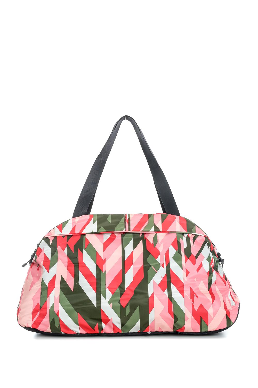 NIKE - Γυναικείο σακίδιο Nike AURA CLUB - PRINT κόκκινο-πράσινο μοτίβο γυναικεία αξεσουάρ τσάντες σακίδια αθλητικές