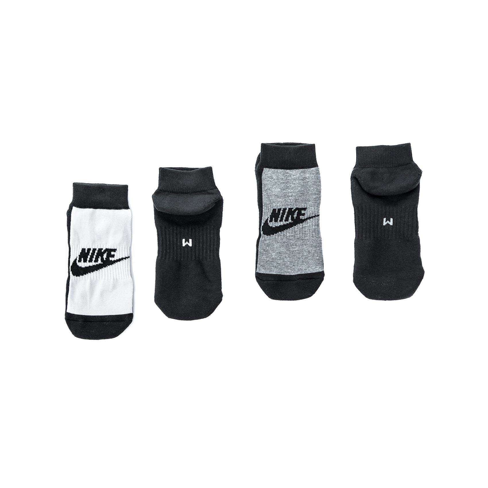 NIKE - Ανδρικό σετ κάλτσες NIKE γκρι- λευκές ανδρικά αξεσουάρ κάλτσες