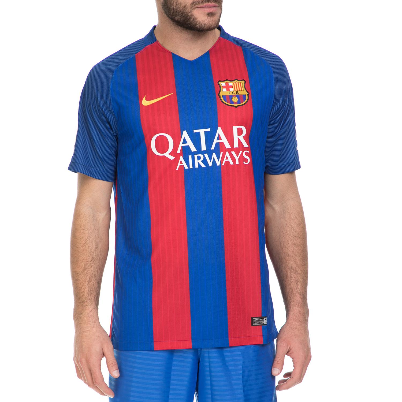NIKE - Ανδρική ποδοσφαιρική φανέλα ΝΙΚΕ FCB M SS HM STADIUM μπλε-κόκκινη ανδρικά ρούχα αθλητικά t shirt