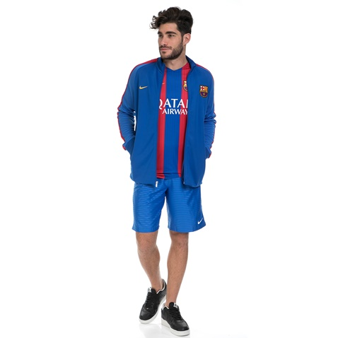 NIKE-Ανδρικό ποδοσφαιρικό τζάκετ NIKE FCB AUTH N98 μπλε