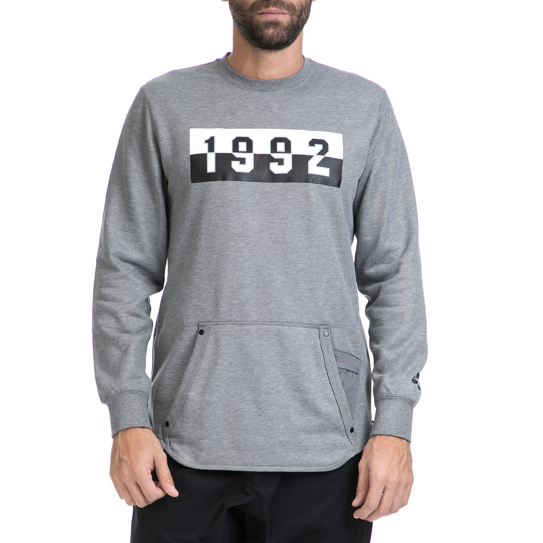 2541b572f69 NIKE - Ανδρική μπλούζα NΙΚΕ AIR CRW γκρι, Ανδρικά αθλητικά φούτερ ...